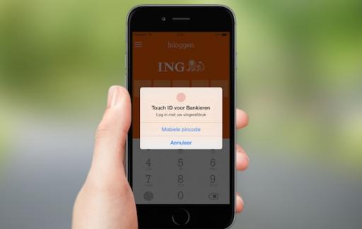 ING Bankieren Touch ID