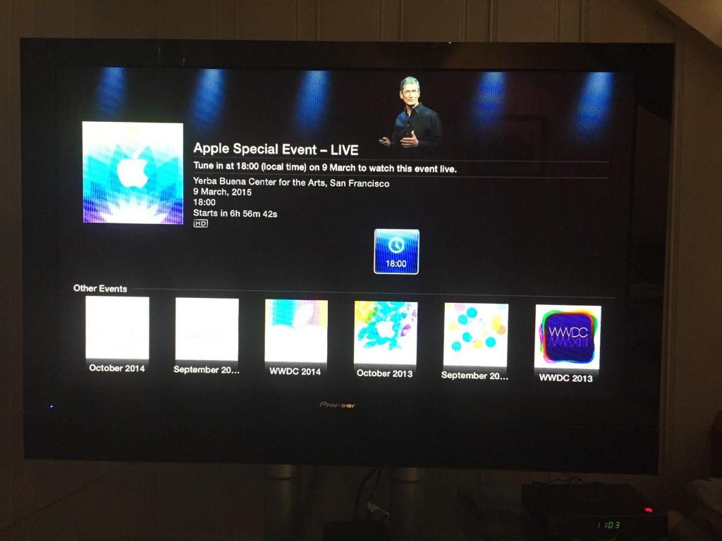 Spring Forward Apple TV