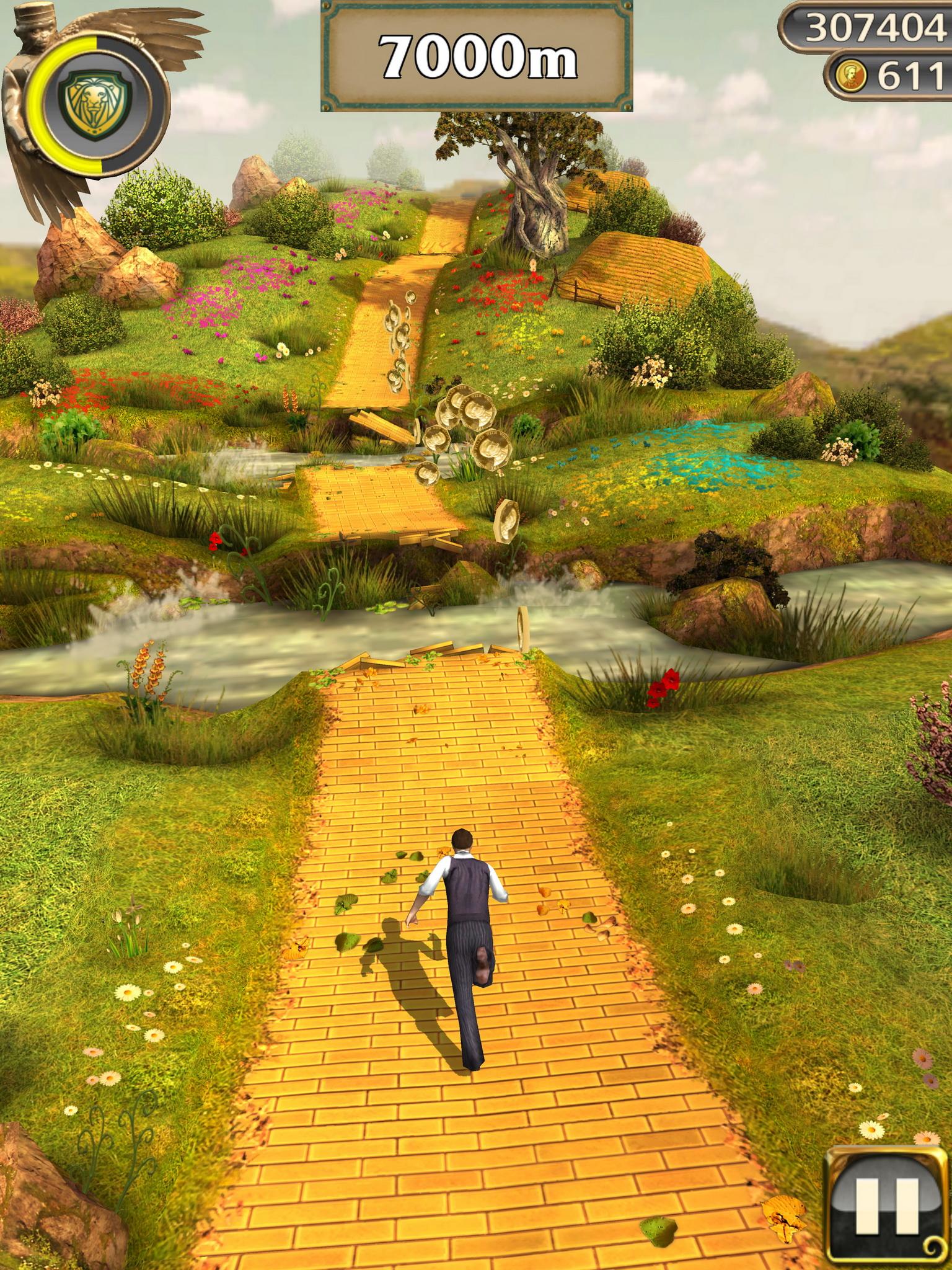 Temple Run Oz screenshot 2