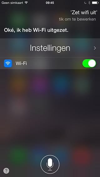 siri-wifi-uitzetten