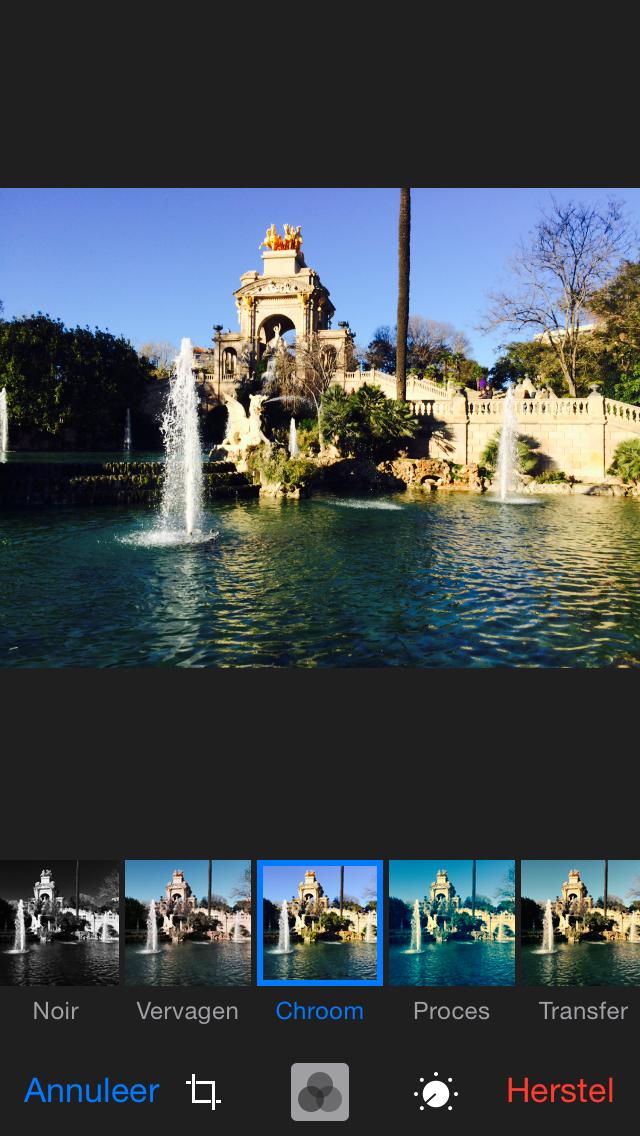 filters foto's app