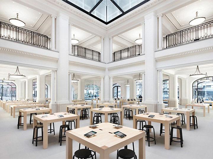 Apple-Store-Amsterdam-tafels