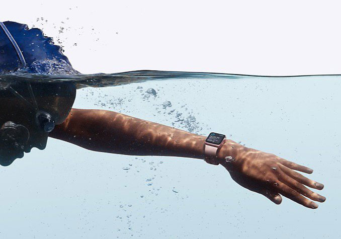 Apple Watch waterbestendig
