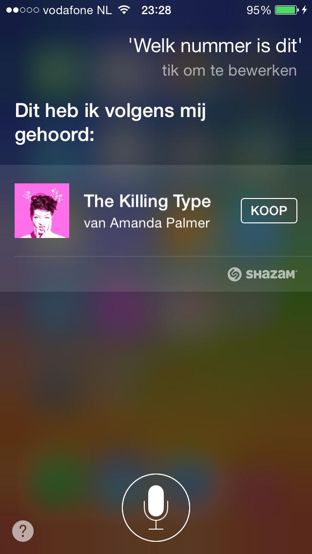 Siri welk nummer is dit