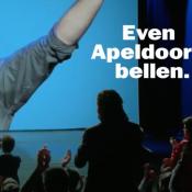 Even Apeldoorn Bellen neemt (een beetje) Apple op de hak