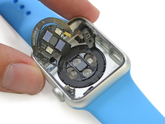 apple watch componenten