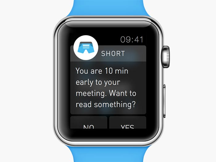 apple watch notificaties inschakelen voorbeeld