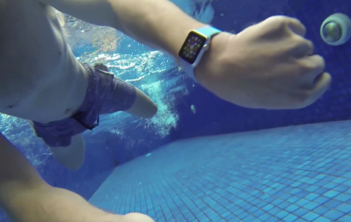 Apple Watch underwater