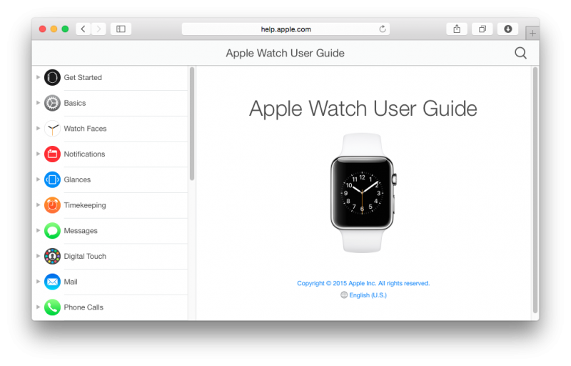 Apple Watch handleiding