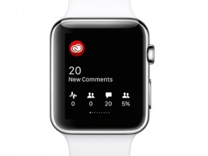 Adobe Creative Cloud Apple Watch