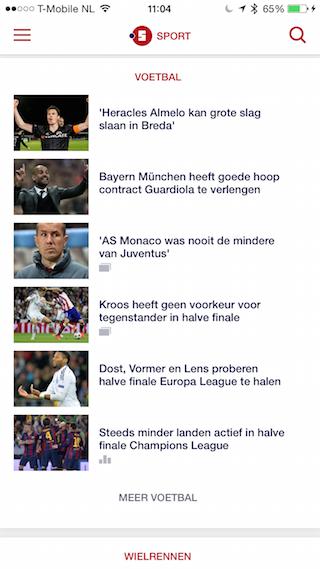 NU.nl katernpagina's