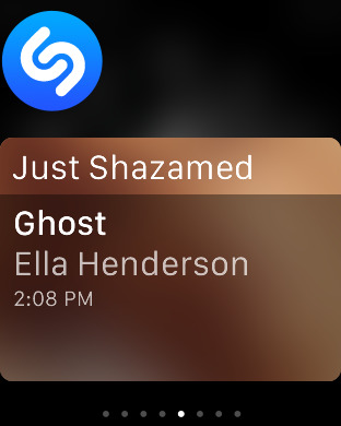 shazam apple watch 1