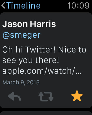 apple watch twitter 4