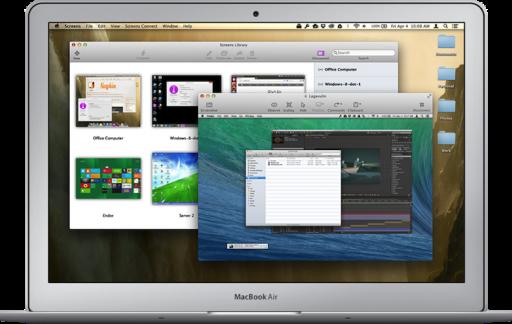 screens voor de Mac