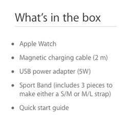 Apple Watch drie bandjes