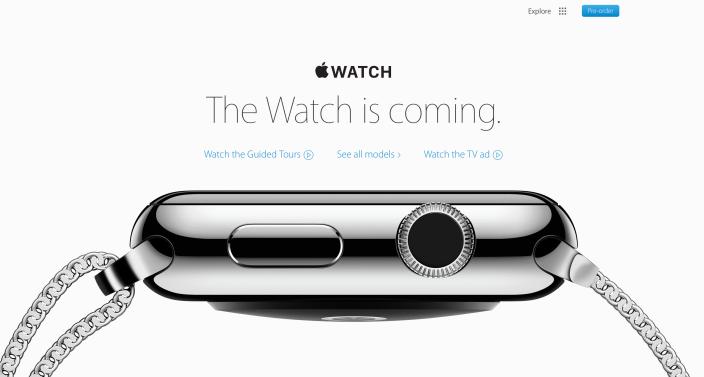 Apple Watch website geen datum