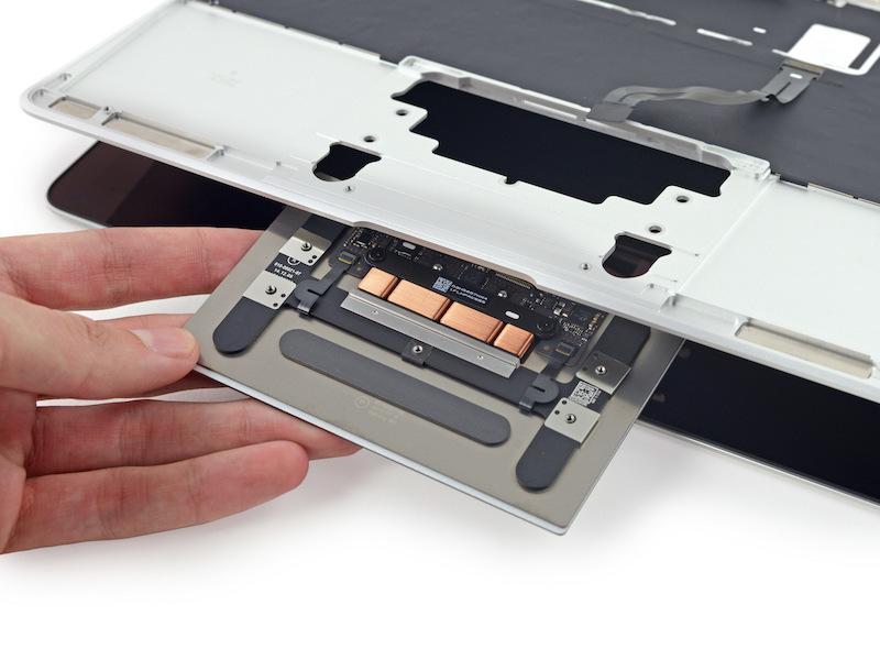MacBook 12-inch teardown Trackpad