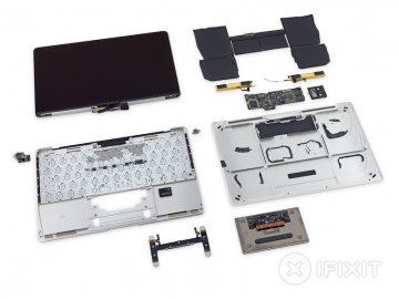 MacBook 12-inch teardown onderdelen