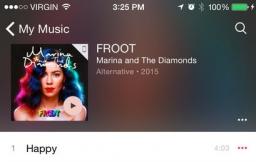 iOS 8.4 music app