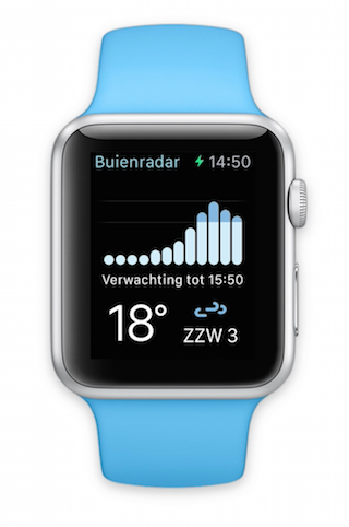 Buienradar Apple Watch
