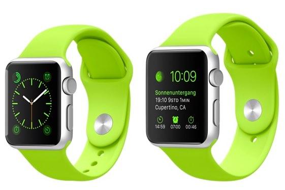 apple watch sport bandjes