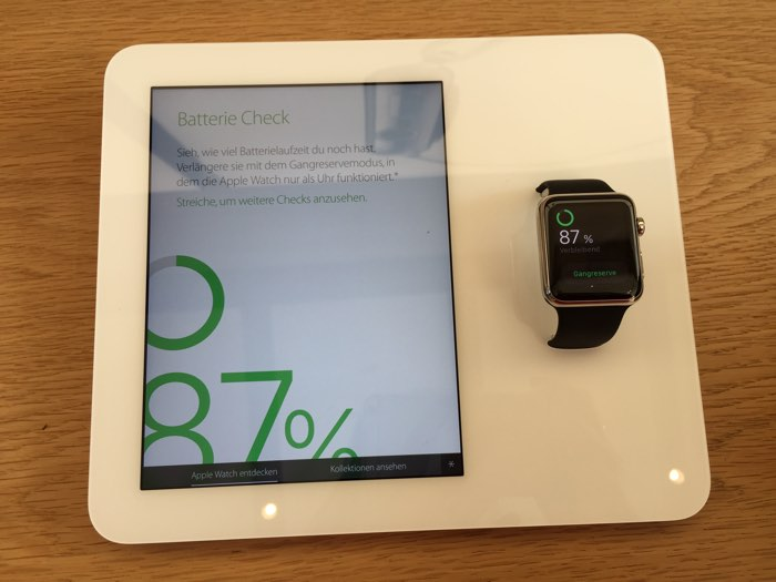 apple watch demostation