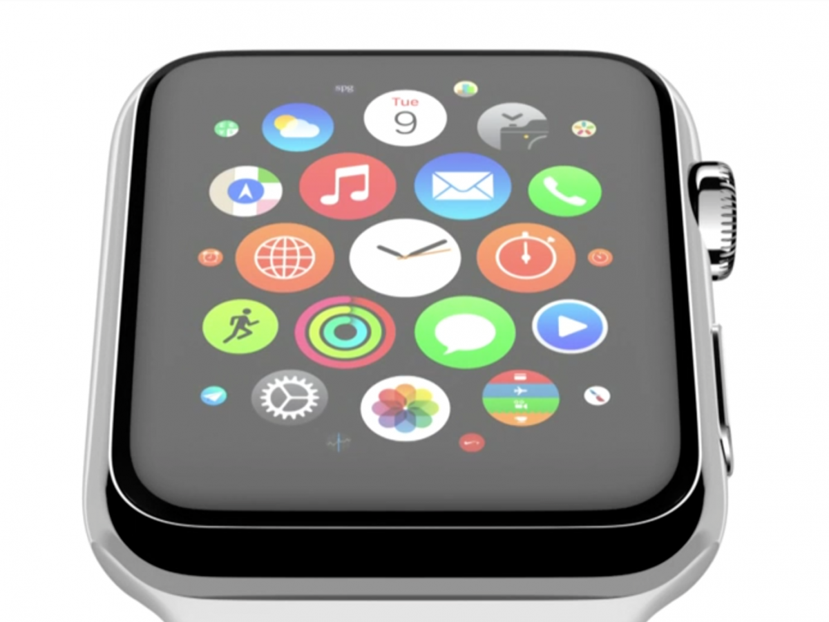 Apple Watch screen