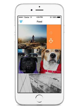 Vimeo screenshot iphone