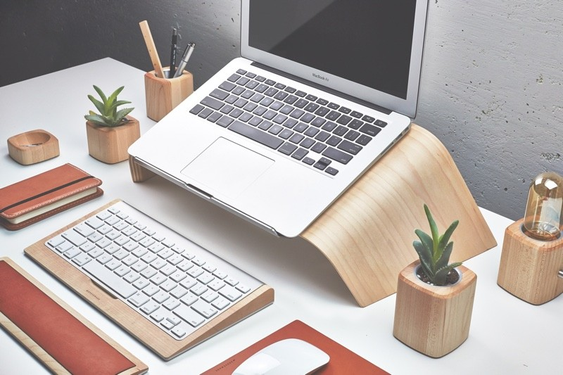 Grovemade laptopstandaard