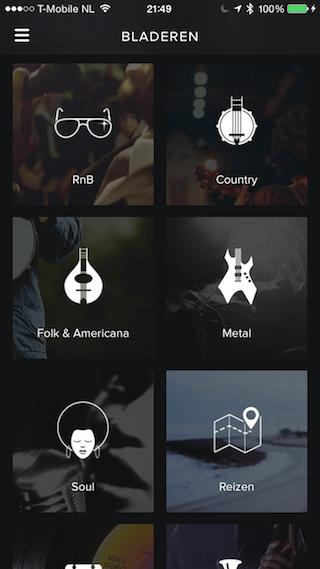 Spotify genres