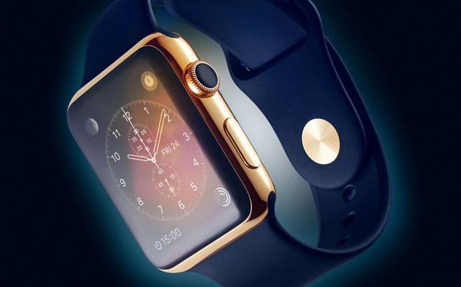 apple watch edition goud