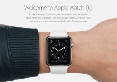 guided tours apple watch
