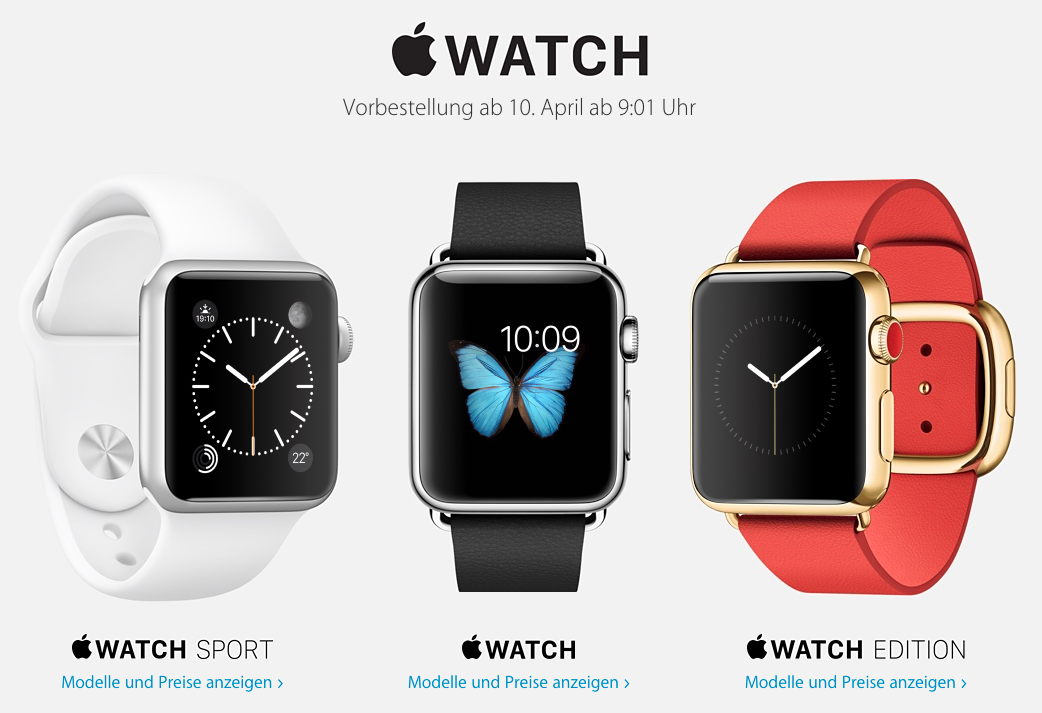 Apple Watch 10 april