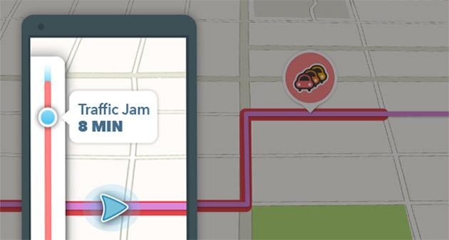 Waze Traffic Bar