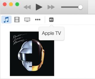 Apple TV herstellen iTunes
