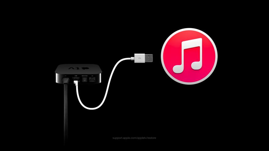 Apple TV herstellen