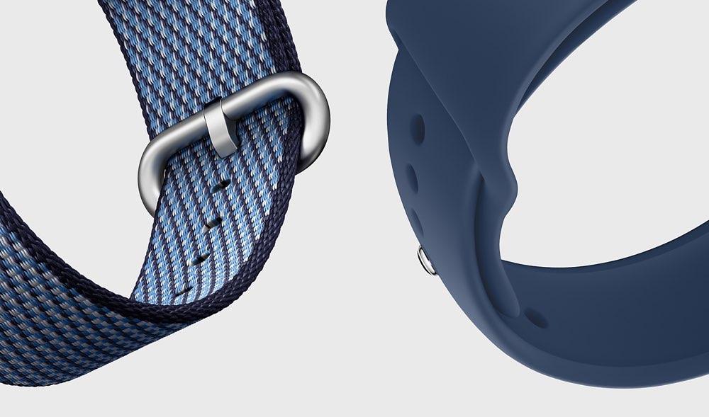 Horlogebandje nylon geweven en sportbandje