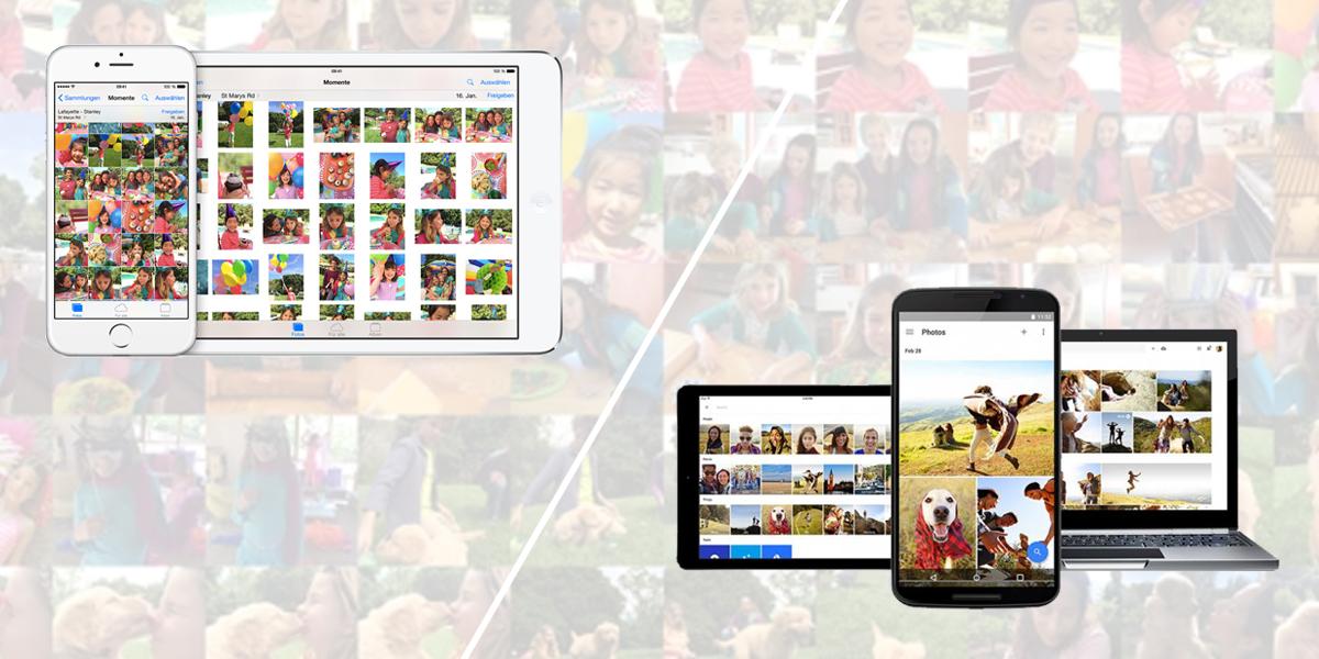 iCloud Fotos vs Google Fotos