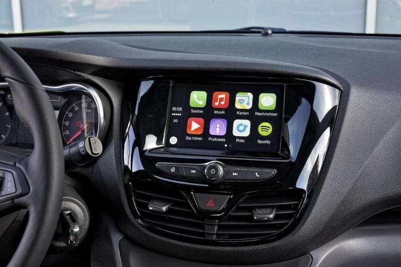 Opel gaat Apple CarPlay ondersteunen