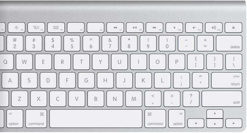 toetsenbord-mac