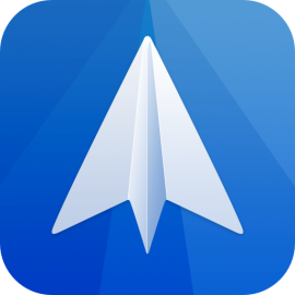Spark mail icon rounded