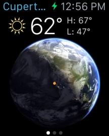 living earth apple watch