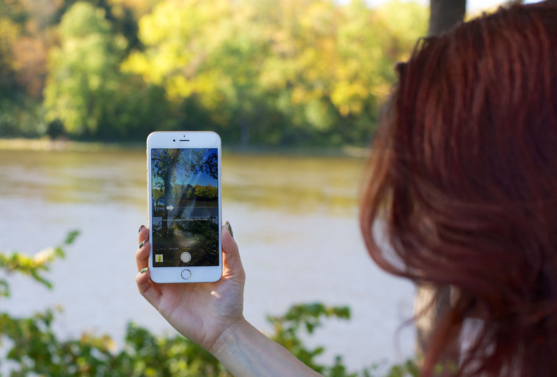 iPhone 6 panorama selfie