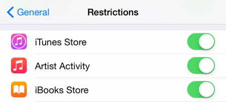 apple music restrictions