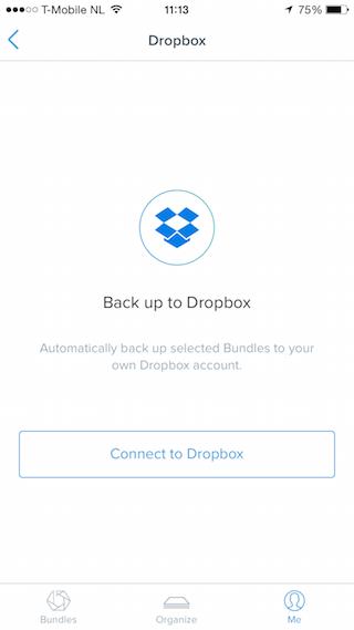 Bundle Dropbox