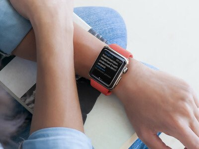 apple watch google nieuws weer