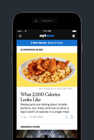 nyt now iphone app
