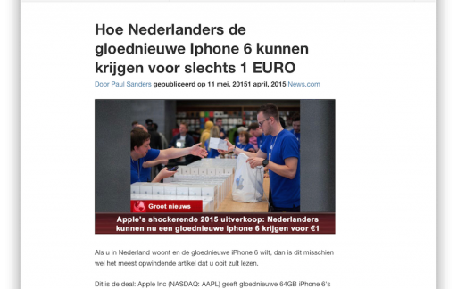 iPhone 6 scam NOS revised
