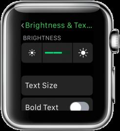 apple-watch-helderheid-tekstgrootte