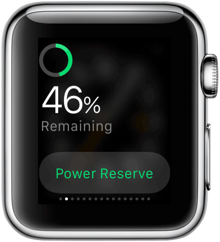 Apple Watch: batterijduur